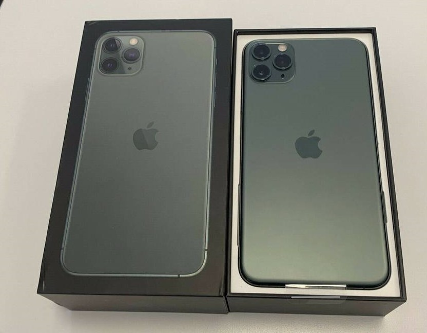 Apple iPhone 11 Pro 64GB  = 600 EUR, Apple iPhone 11 Pro Max 64GB = 650 EUR, Apple iPhone XS 64GB = 400 EUR,  Apple iPhone XS Max 64GB = 430EUR , Whatsapp Chat : +27837724253