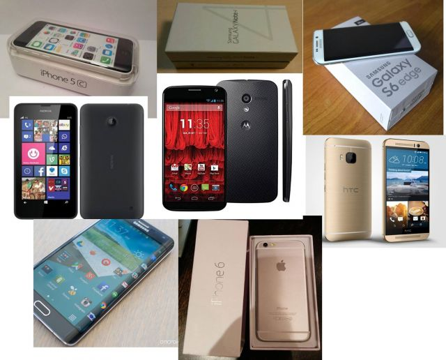 F/s Authentic iPhones, Samsungs ,Sony Xperia