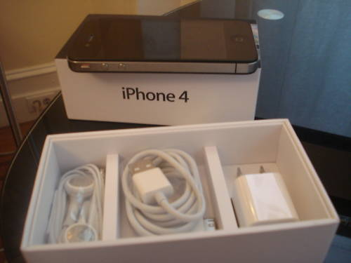 For sale: Apple Iphone 4 32gb Unlocked with 1year warranty.