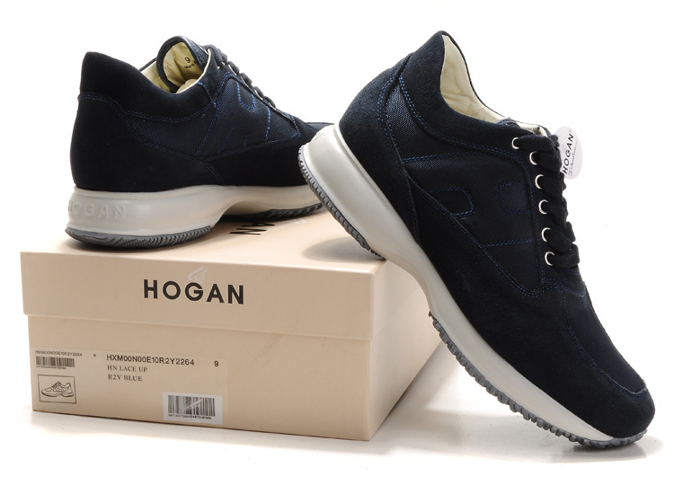 scarpe uomo blu hogan