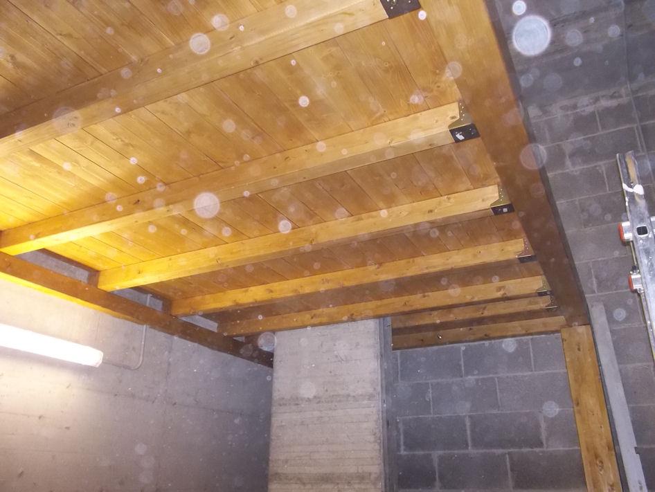 Soppalco in legno lamellare tetti pergole annunci roma for Soppalco garage di stoccaggio fai da te
